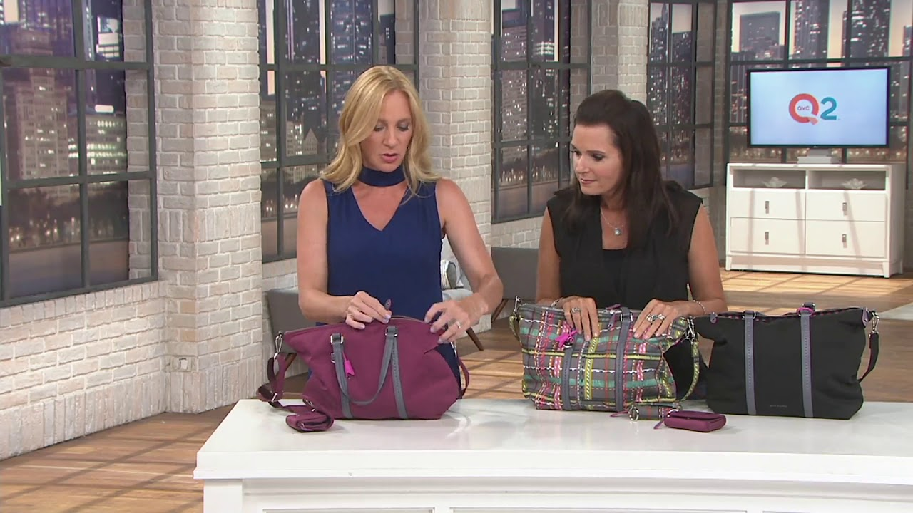 4988a2b492 Vera Bradley Midtown Small Tote and Card Case on QVC - YouTube