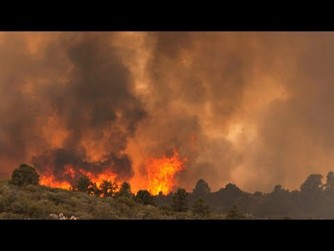Arizona battles out of control wildfire that killed 19 firefighters