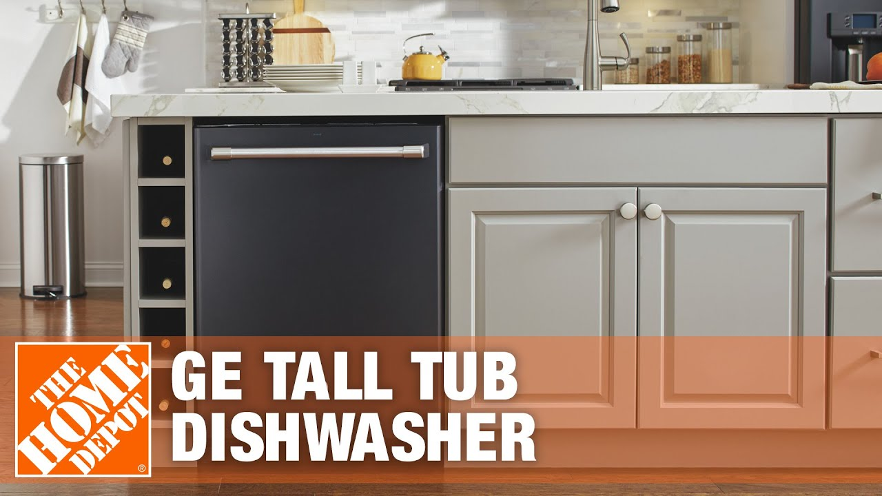 GE Tall Tub Dishwasher The Home Depot