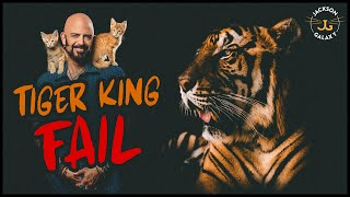 Tiger King Fail: Where we missed the mark and what we can do about it.