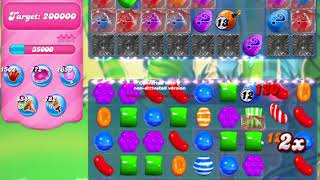 Candy Crush Saga Level 1602 NO BOOSTERS no timed level