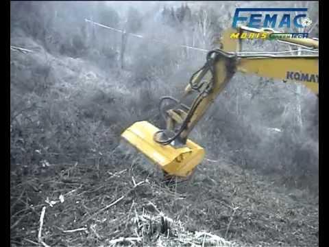 femac 30 5n ttc1200 trincia forestale escav 8 ton. Black Bedroom Furniture Sets. Home Design Ideas