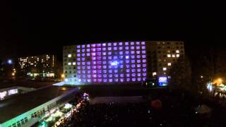 Kolej Roku 2014 Lightshow and laser show! 16.04.14