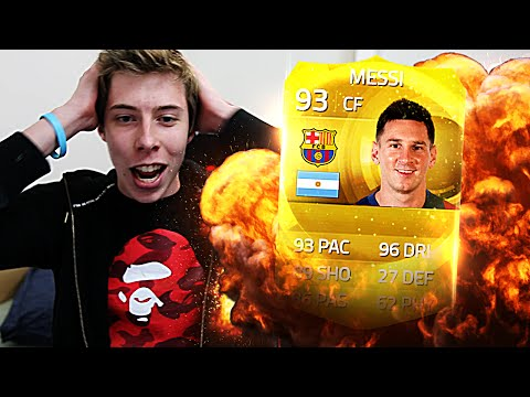 TOTY PACK OPENING! - I GOT MESSI!