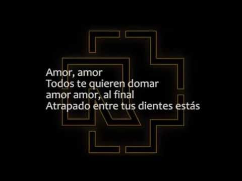 Rammstein amour amour cantada en español