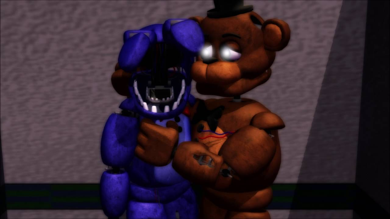 mmd withered freddy x withered bonnie youtube