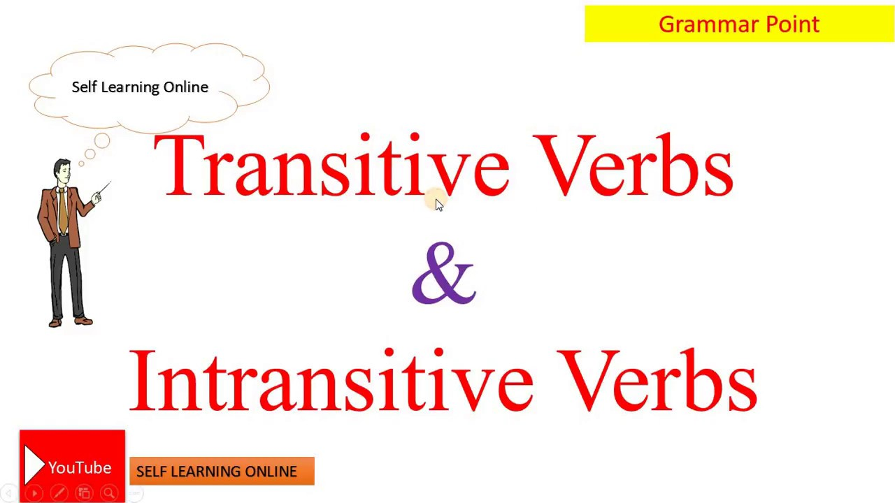 Workbooks transitive and intransitive verbs worksheets : Transitive Verbs and Intransitive Verbs #Learning English Language ...