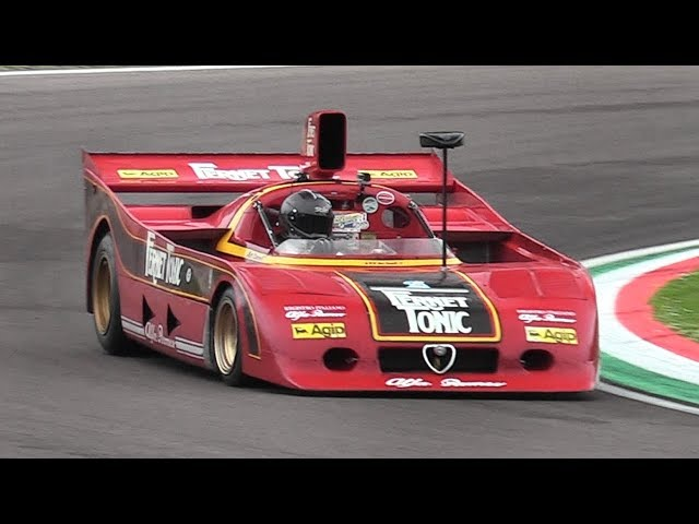 Alfa Romeo 33 SC 12 - Accelerations & Flat-12 Engine Glorious Roar!