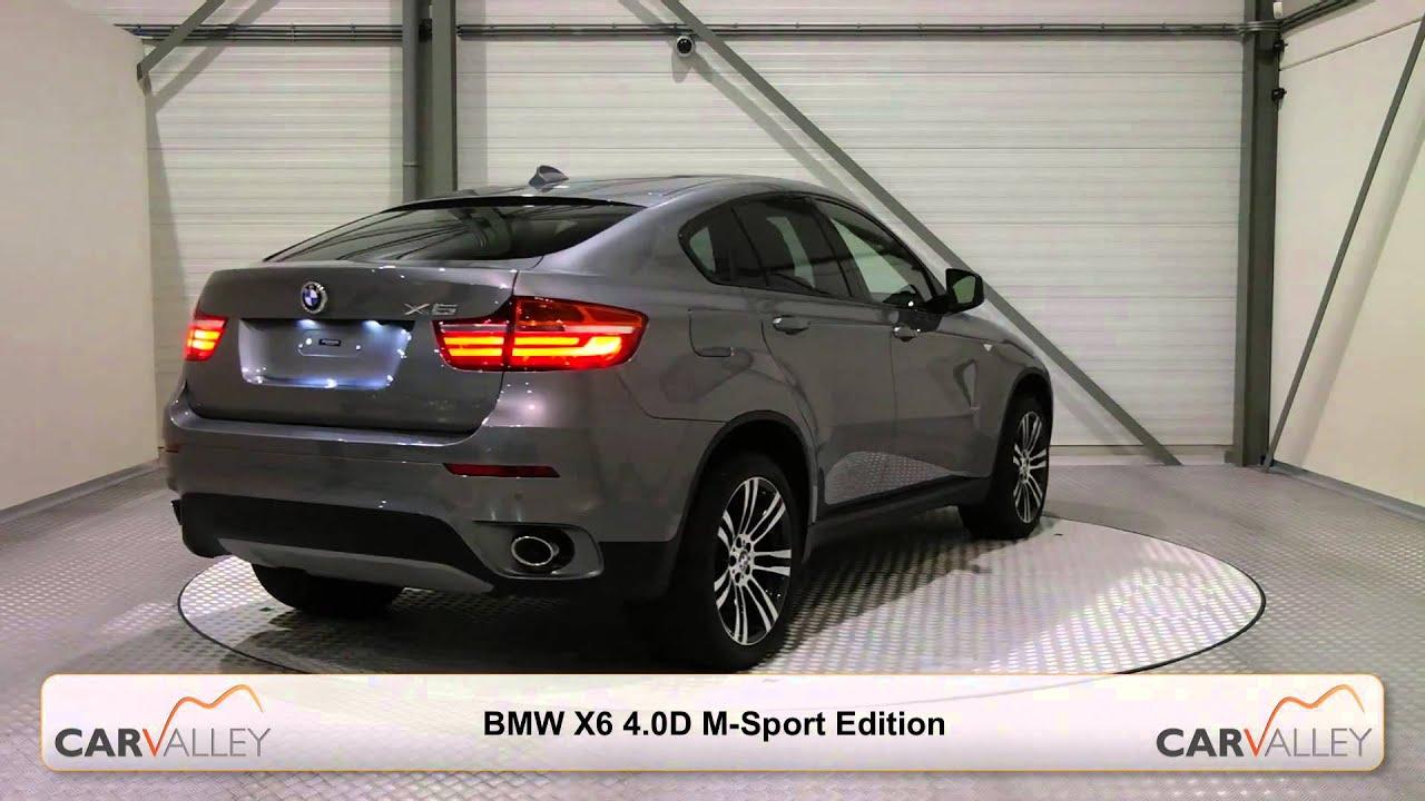 Nieuwe of jong gebruikte BMW X6 4 0D M Sport Edition 2013 line