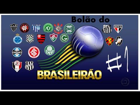 Bolão do Brasileirão - #1 - 1ª Rodada - YouTube