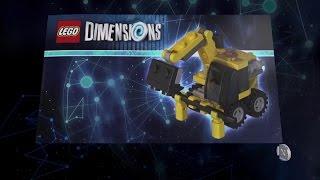 Video Lego Dimensions Emmet Vehicle Instructions - Emmet's Excavator, The Deustroydozer, Destruct-o-Mech download MP3, 3GP, MP4, WEBM, AVI, FLV November 2018