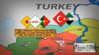 6 февраля 2018. Военная обстановка в Сирии. К курдам в Африне прибыло подкрепление до 5 000 человек.