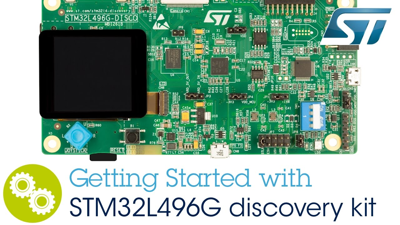 Getting started with the STM32L496G discovery kit