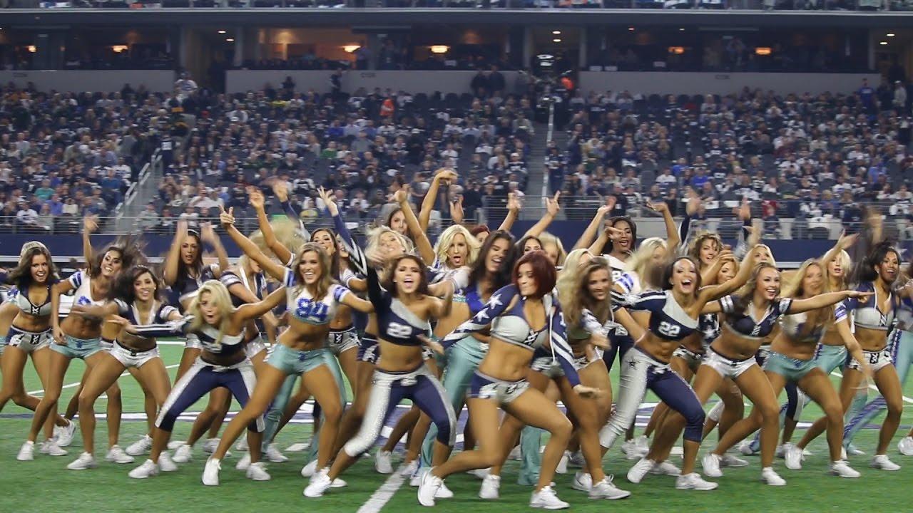 Cowboys Halftime Show Thanksgiving 2020.Dallas Cowboys Cheerleaders Hip Hop Halftime