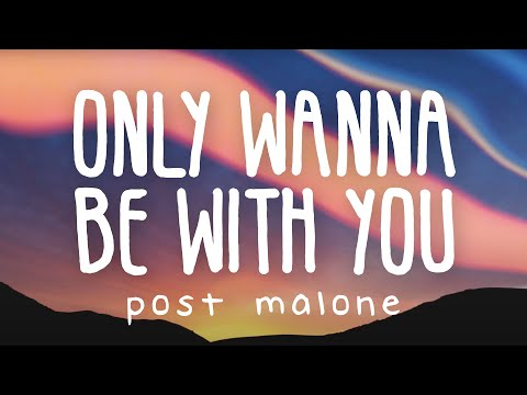 Post Malone – Only Wanna Be With You (Lyric Video) (Pokemon)