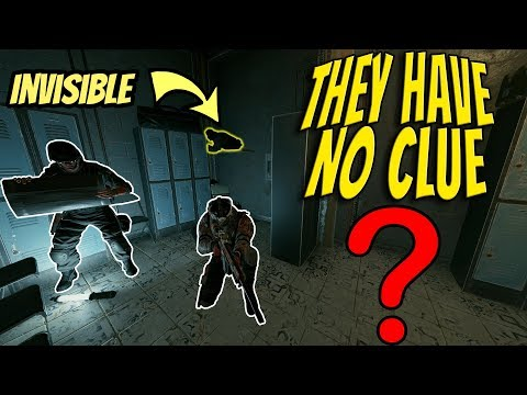 HIDING in the OBJECTIVE in Rainbow Six Siege