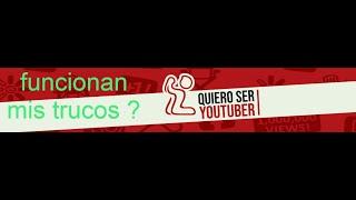 REALMENTE FUNCIONAN los TRUCOS de QUIERO SER YOUTUBER