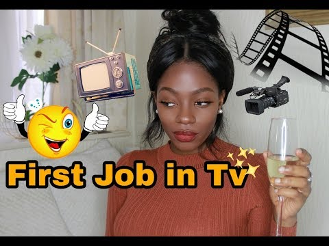 First Job// Working in Television//Runner//Post production//London//University