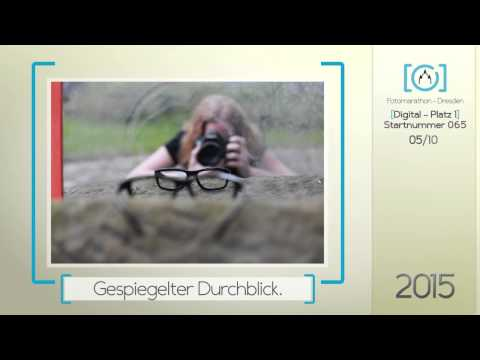 1. Platz Digital 2015 - 5. Fotomarathon-Dresden.de