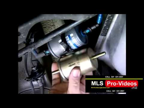 CARQUEST AUTO PARTS PHOENIX OREGON CAR FUEL FILTER REMOVAL AND REPLACEMENT - YouTube