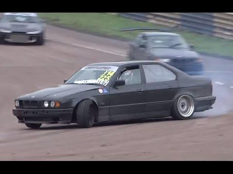 Bmw E34 540i V8 Drifting Youtube