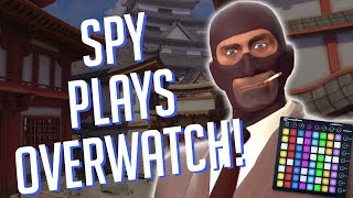 Spy Plays OVERWATCH! Soundboard Pranks in Competitive!