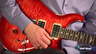 PRS Custom 24 Blood Orange | N Stuff Music Product Review