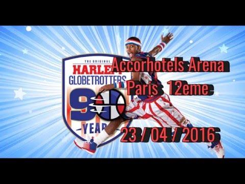 Harlem Globetrotters - 90 ans de Legende - Accorhotel Arena Paris France  Avril 2016