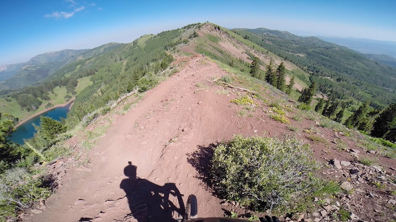 Wasatch Crest Trail Mountain Bike Park City To Salt Lake City