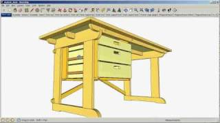 SketchUp: Navigating a drawing thumbnail