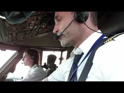 Boeing 747 CREW IS READY FOR TAKEOFF..  BUT..CONTROLLER NOT YET.  .