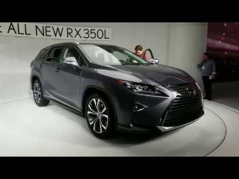 Lexus Los Angeles >> Lexus Rx 350l Los Angeles Auto Show