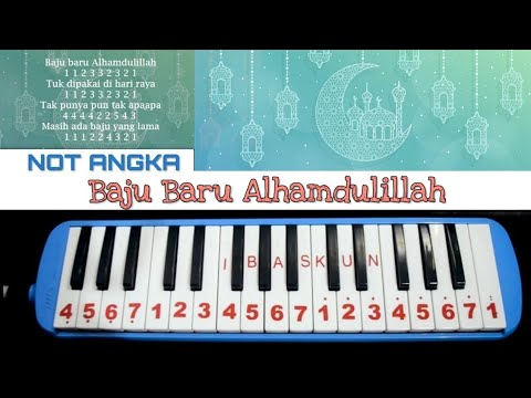 Not Pianika Baju Baru Alhamdulillah Spesial Idul Fitri Youtube