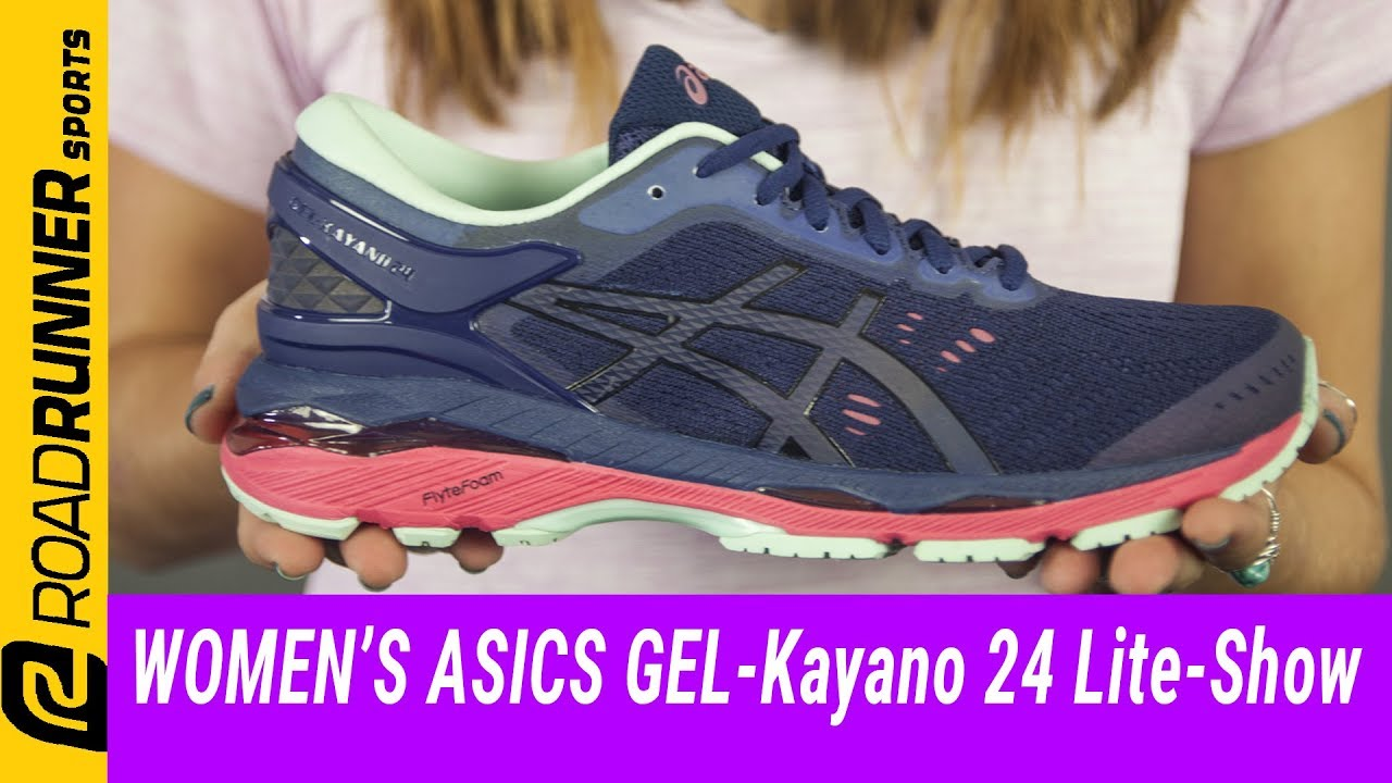 Women's ASICS GEL-Kayano 24 Lite-Show | Fit Expert Review