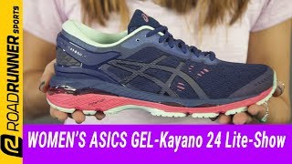 asics gel kayano 24 womens blue