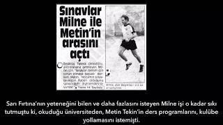 Beşiktaş efsaneleri -  Sarı Fırtına Metin Tekin