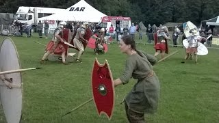 Military Odyssey 2014 - Romans and Britons Battle Re-enactment