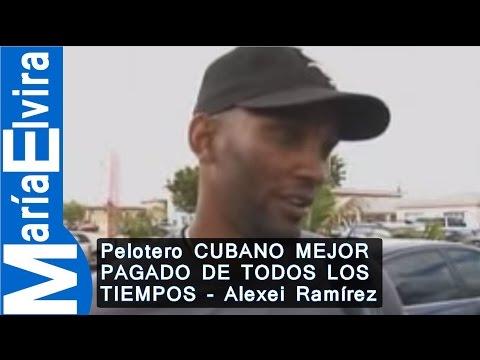 EXCLUSIVA CON PELOTERO CUBANO MEJOR PAGADO DE TODOS LOS TIEMPOS - Alexei Ramírez