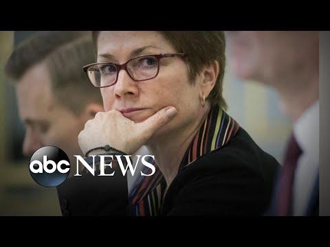 Former ambassador to Ukraine blames Trump, Giuliani for ousting