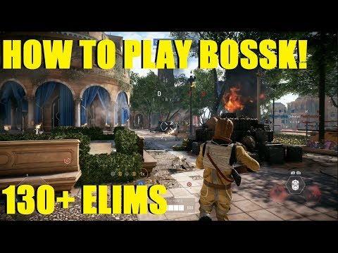 Star Wars Battlefront 2 - How to play Bossk! (130+ ELIMS) | THIS GAME WAS CRAZY!