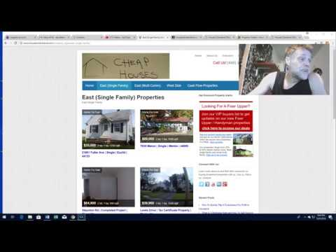 Web Site Intro Video - Houses Cleveland Ohio