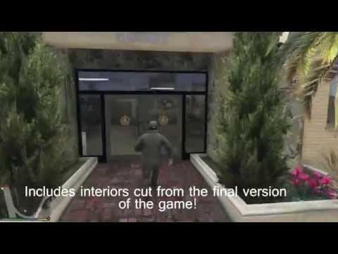 GTA V - OPEN ALL INTERIORS Mod
