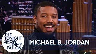 Michael B. Jordan Gives Sprinkles Fans a Taste of His Mom's Famous Rum Cake