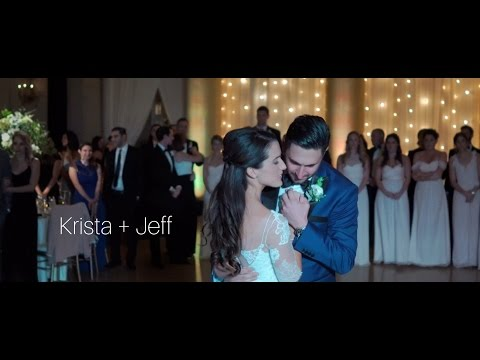 Krista + Jeff // Saratoga Hall of Springs Wedding // Classy Upstate New York Wedding Film
