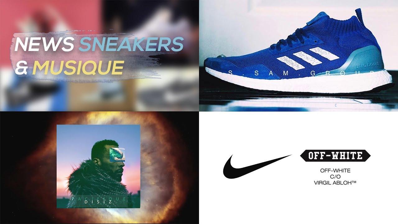 NEWS : Nike x Off White, Disiz, Restock Vapormax Triple Black.