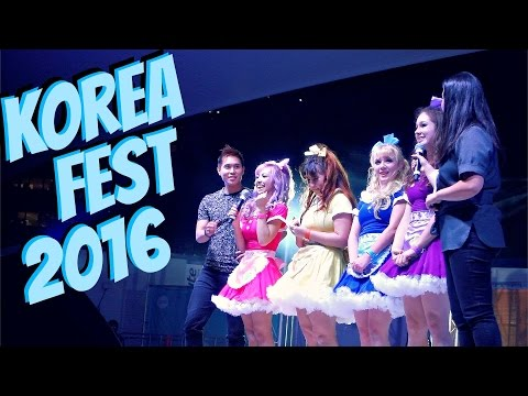 Sydney KOREAN FESTIVAL 2016, Kpop Dancing, Food and Culture