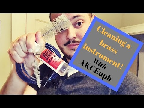 How to Clean a Brass Instrument (Aaron K. Campbell - Euphonium)