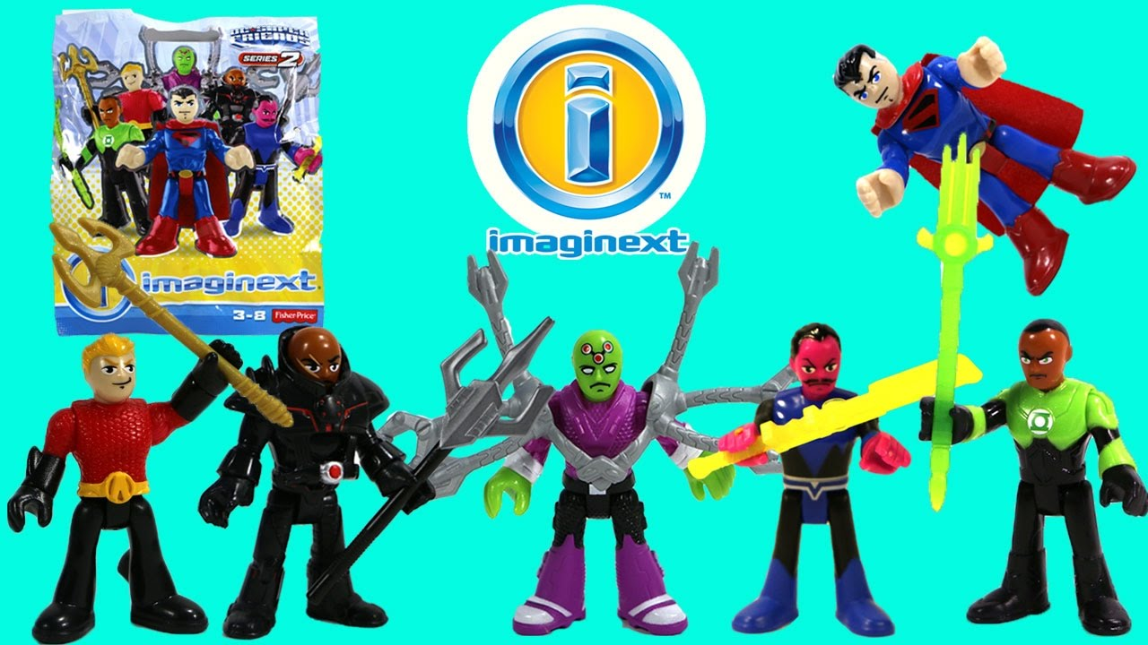 Imaginext Dc Superfriends Series 2 Blind Bags Full Set