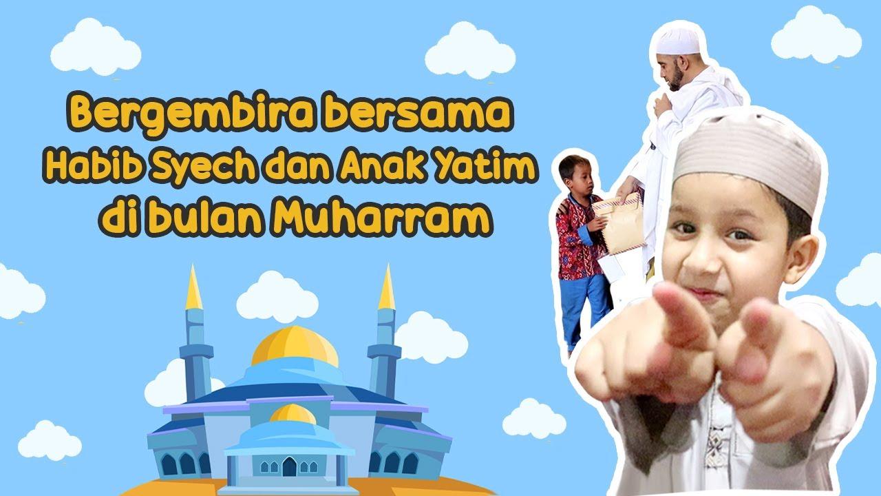 Bergembira bersama Habib Syech dan Anak Yatim di bulan Muharram