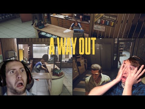 WHAT'RE WE DOIN WADE??? | A Way Out Multiplayer with Wade #9